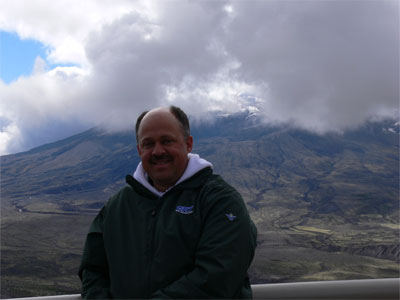 John at Mt. Helens