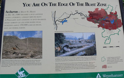 Description of edge of Blast zone