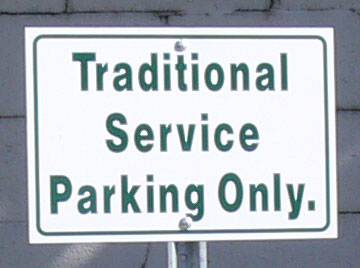 There are two services at COD: one Traditional and one contemporary
